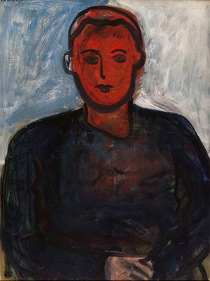 <em>Portrait of a Young Man with Red Face</em>, 1960