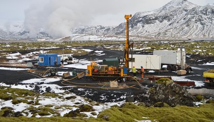Iceland Carbon Capture Project Quickly Converts Carbon Dioxide Into Stone
