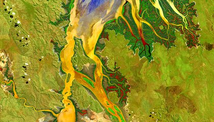 These Stunning Satellite Images Turn Earth Into Art