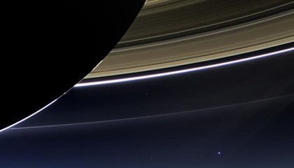 NASA Goes All the Way to Saturn, Takes a Stunning Selfie