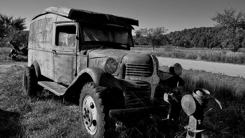 An old moonshiner wagon from Arkansas.
