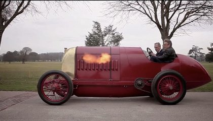 A Racing Car Built in 1910 Roars to Life Once More