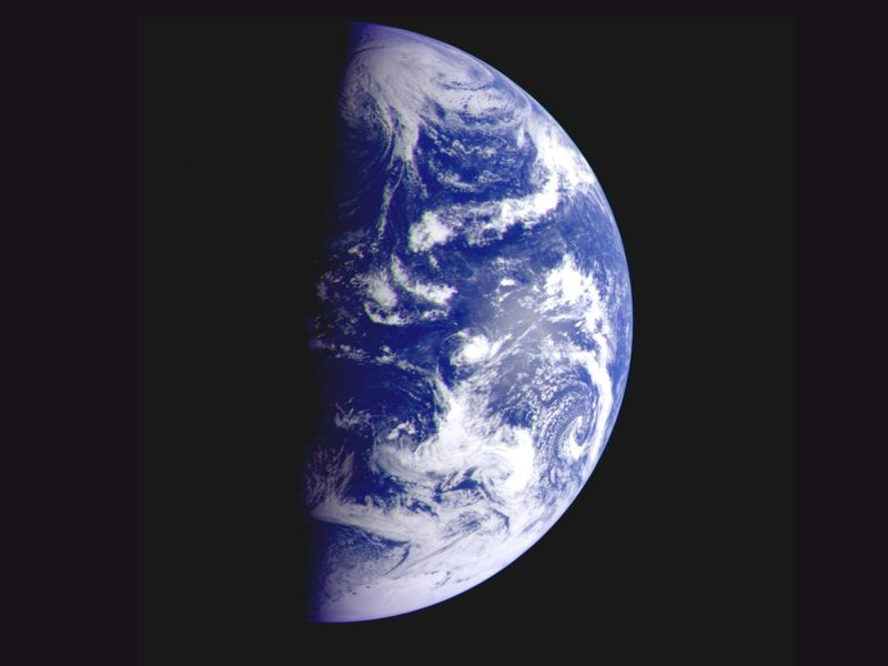 Earth from departing Galileo 1996.jpg