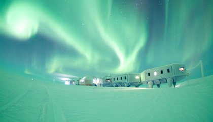 The Making of an Antarctic Station