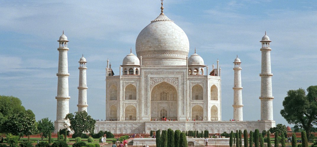 The legendary Taj Mahal