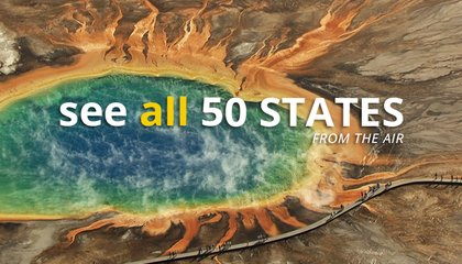 See All 50 States From the Air