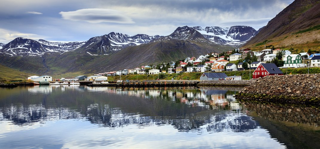 Siglufjordur, Iceland's northernmost town