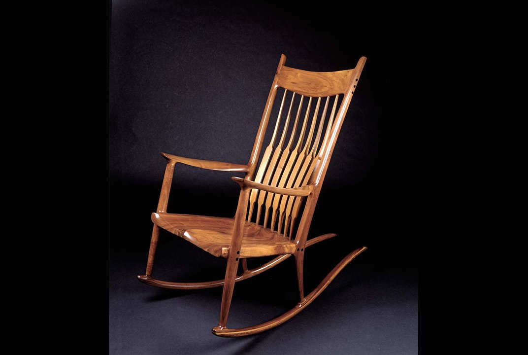 Famous For His Rocking Chair Sam Maloof Made Furniture