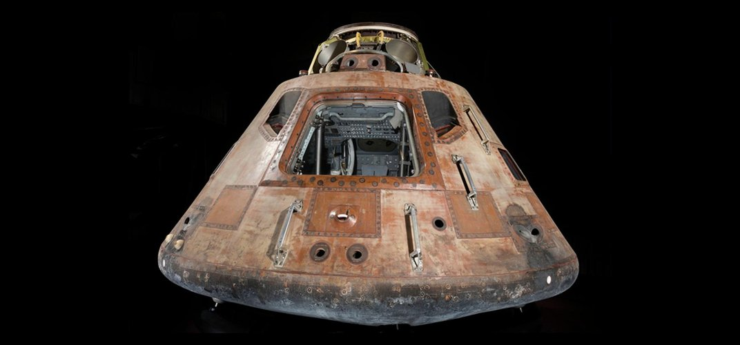 Caption: Apollo 11 Moonship To Go On Tour