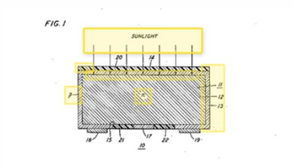 Document Deep Dive: The Patent for the First Practical Solar Cell