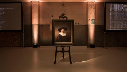 """New"" Rembrandt Created, 347 Years After the Dutch Master's Death"