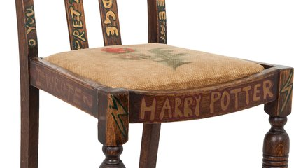 Muggles Are Selling the Chair in Which 'Harry Potter' Was Created