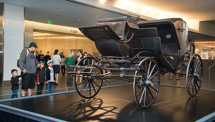 This is the Carriage That Took Lincoln on his Fateful Trip to Ford's Theatre