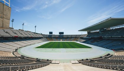 Barcelona's Turning Its Old Olympic Stadium Into a Virtual Reality Themepark