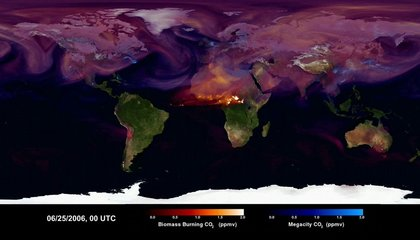 This Visualization of the World's Carbon Emissions Is Chillingly Beautiful