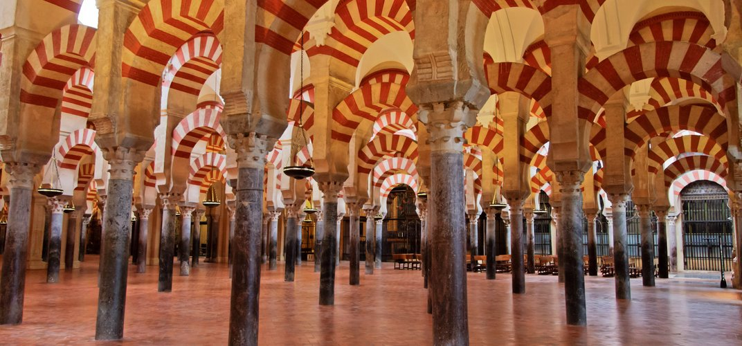 The mosque in Cordoba