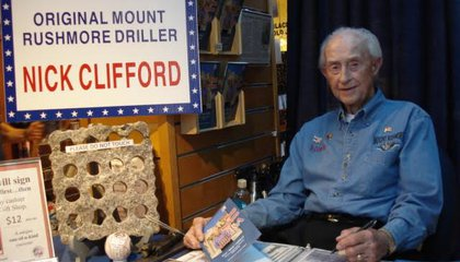 The Last Living Carver of Mount Rushmore Reflects on the Monument at 75