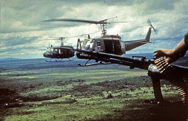 Bell UH-1 Iroquois (Huey) helicopters