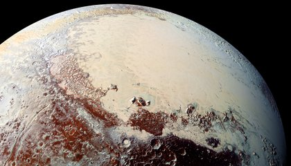 Pluto May Have Ice Volcanoes at the Bottom of Its Heart