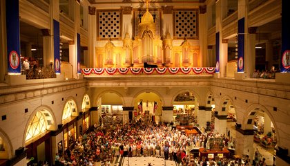 The Sound and Fury of Philadelphia's Wanamaker Organ
