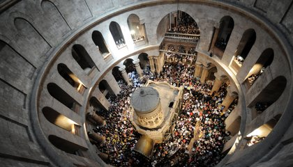 One of Christianity's Holiest Sites Gets Its Grand Unveiling
