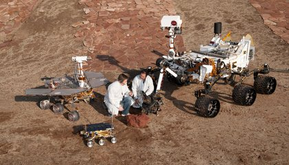 NASA's Opportunity Rover Has Developed Robot Dementia