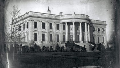 The First-Known Photograph of the White House Was Taken by an Immigrant