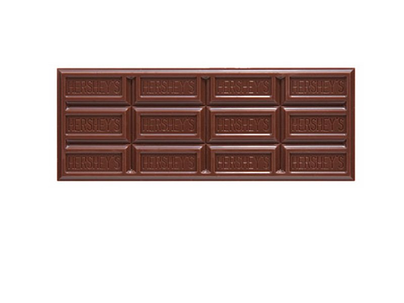 Copyright confection the distinctive topography of the hershey bar arts culture smithsonian - Picture of bar ...