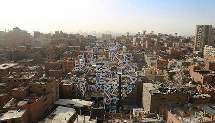 This Mural Honoring Garbage Collectors Covers More Than 50 Buildings in Cairo