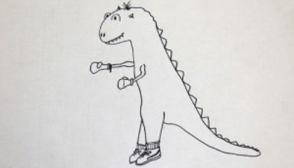 Blog Carnival #16: Draw a Dinosaur Day, Reporter Guidelines, Jurassic Parka and More...