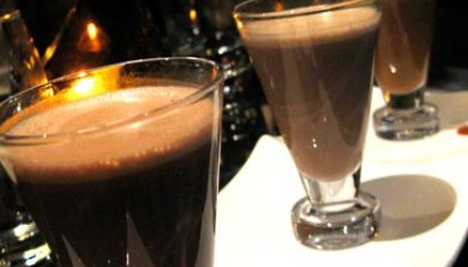 "Hot Cocoa Tasting at a ""Chocolate Lounge"""