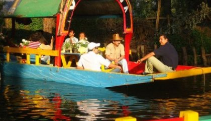 Inviting Writing: A Floating Food Festival in Mexico