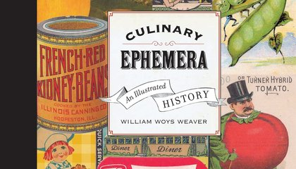 When Zits Meant Food: Learning from Culinary Ephemera