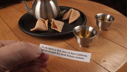 Cracking Open the History of Fortune Cookies