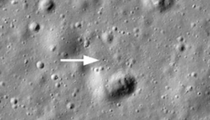 Lost Soviet Reflector Found on the Moon
