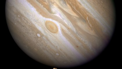 Picture of the Week—Jupiter and Ganymede