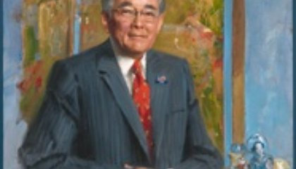 A New Portrait of Statesman Norman Mineta is Unveiled