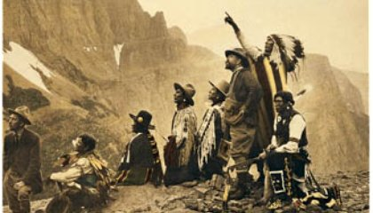 Getting Negative With Edward Curtis