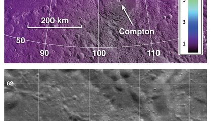Exotic volcanoes on the Moon