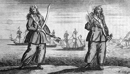 If There's a Man Among Ye: The Tale of Pirate Queens Anne Bonny and Mary Read