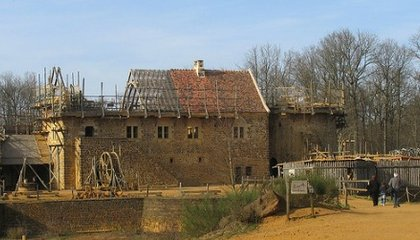 A Medieval Castle in the Making
