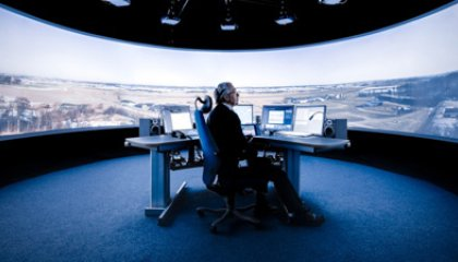 Saab Reinvents Air Traffic Control With a Digital Panorama