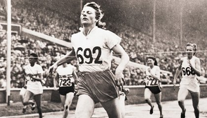 'The Flying Housewife' of the 1948 London Games