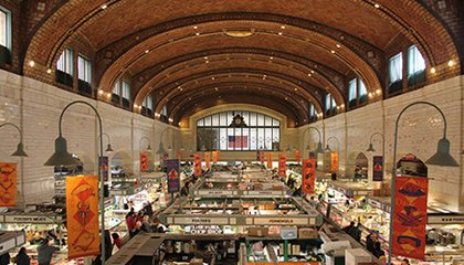 What Public Spaces Like Cleveland's West Side Market Mean for Cities