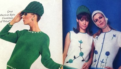 Orlon! Dacron! Antron! The Great American Knits of Fall 1965