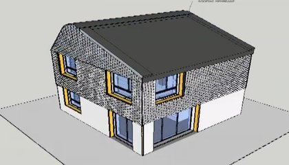 British Architects Plan to Build a House Entirely From Waste