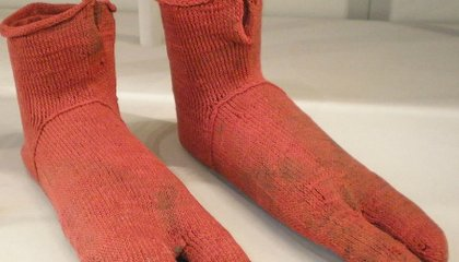 Taking a Closer Look at an Odd Pair of Very, Very Old Socks