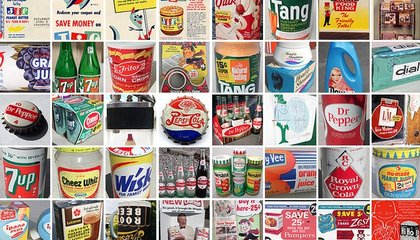 This Nostalgic Private Collection Has 1,713 Photos of Old-Fashioned Cans, Jars and Clippings