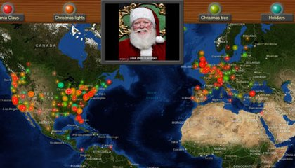 See Where Santa's Turning Up All Over the World