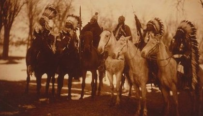PHOTOS: Who Were the Six Indian Chiefs in Teddy Roosevelt's Inaugural Parade?